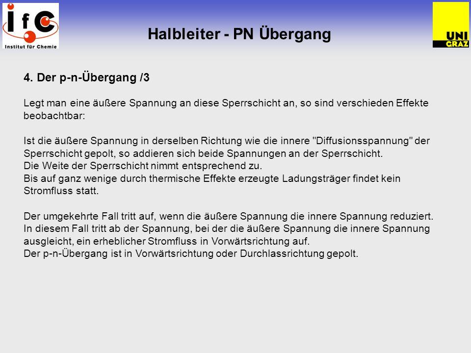 Halbleiter - PN Übergang