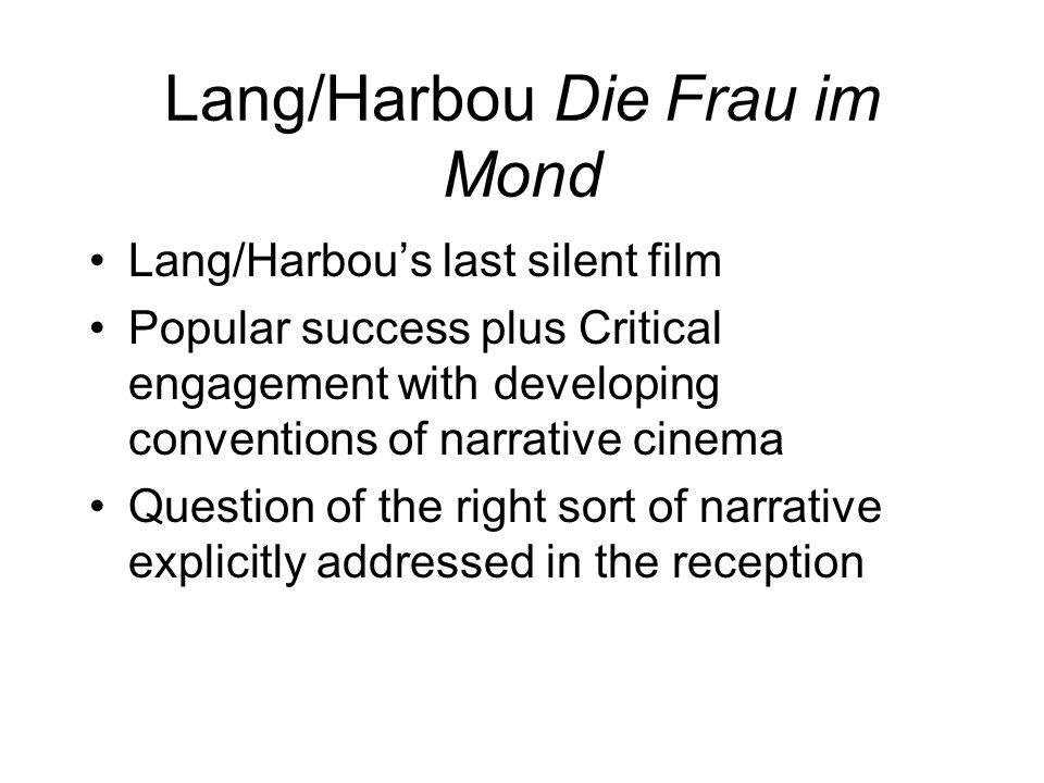 Lang/Harbou Die Frau im Mond