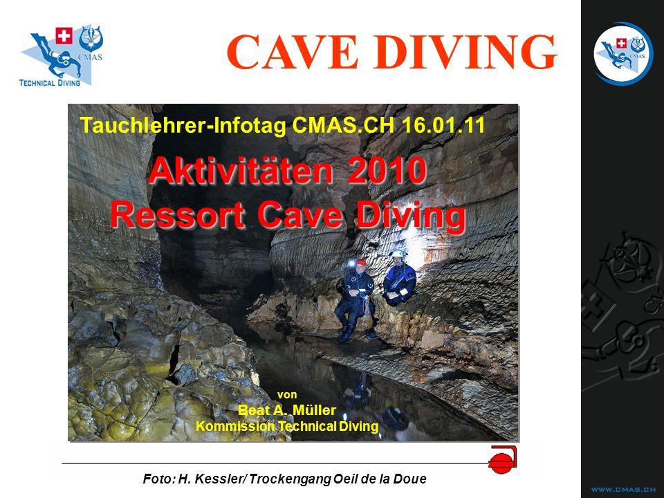 Aktivitäten 2010 Ressort Cave Diving