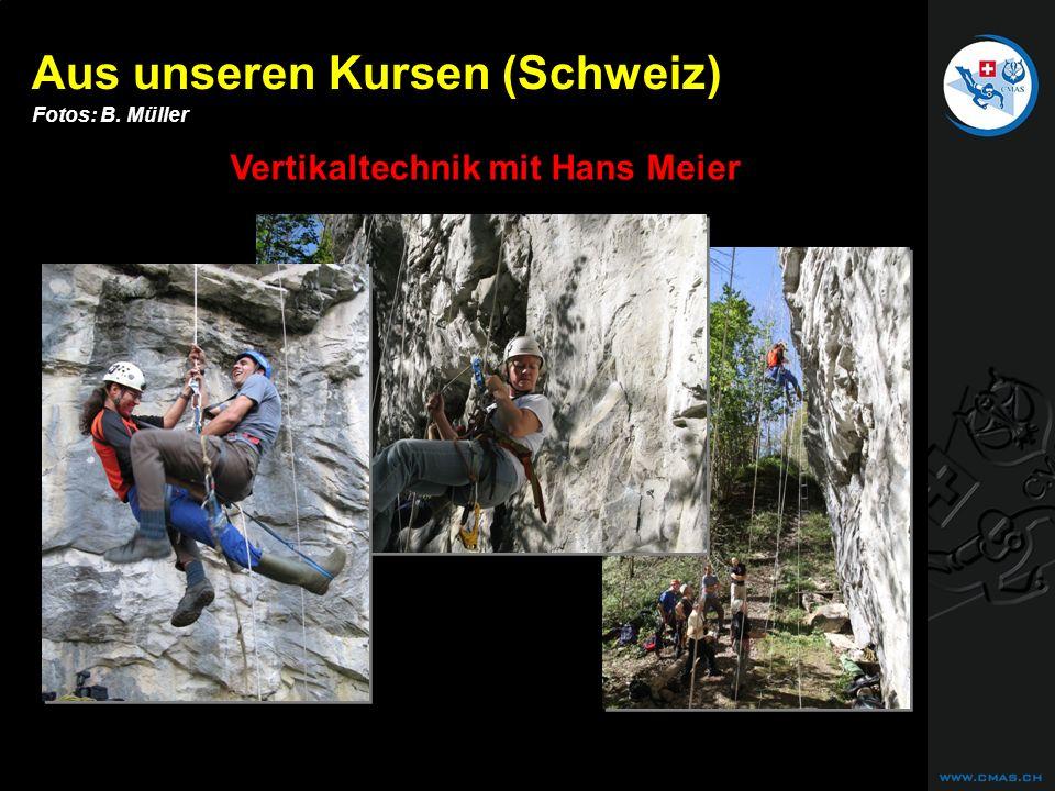 Vertikaltechnik mit Hans Meier