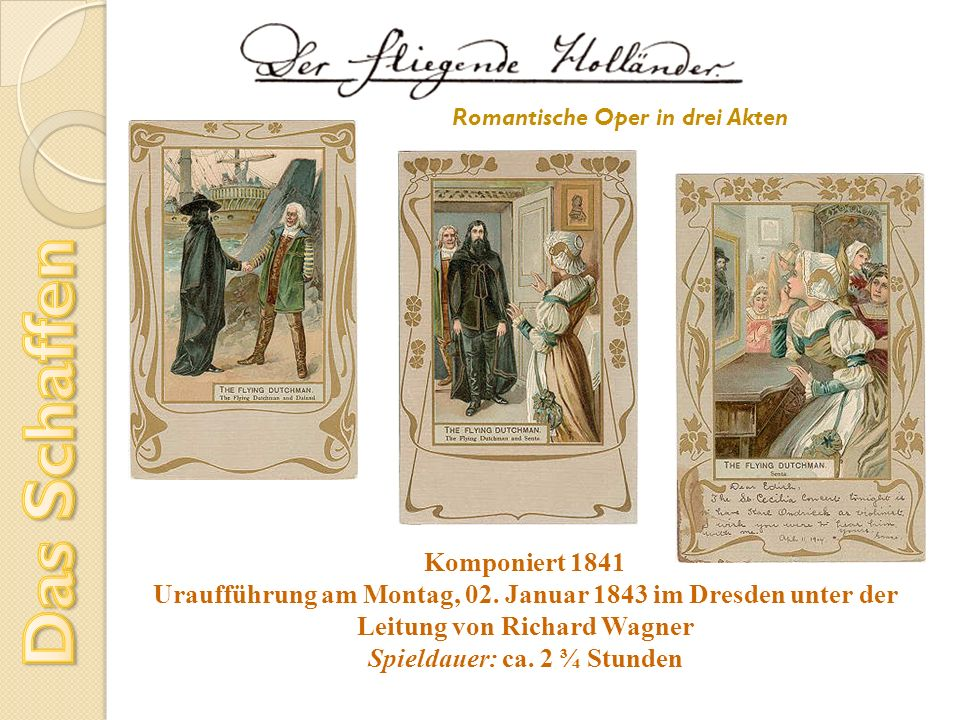 Romantische Oper in drei Akten