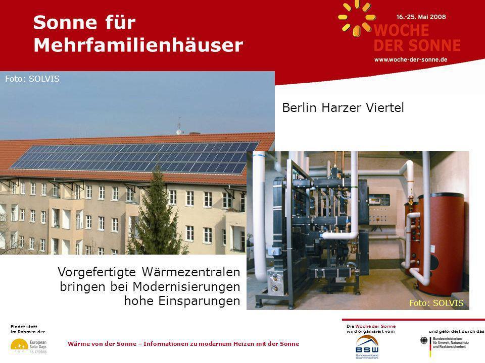 Sonne für Mehrfamilienhäuser