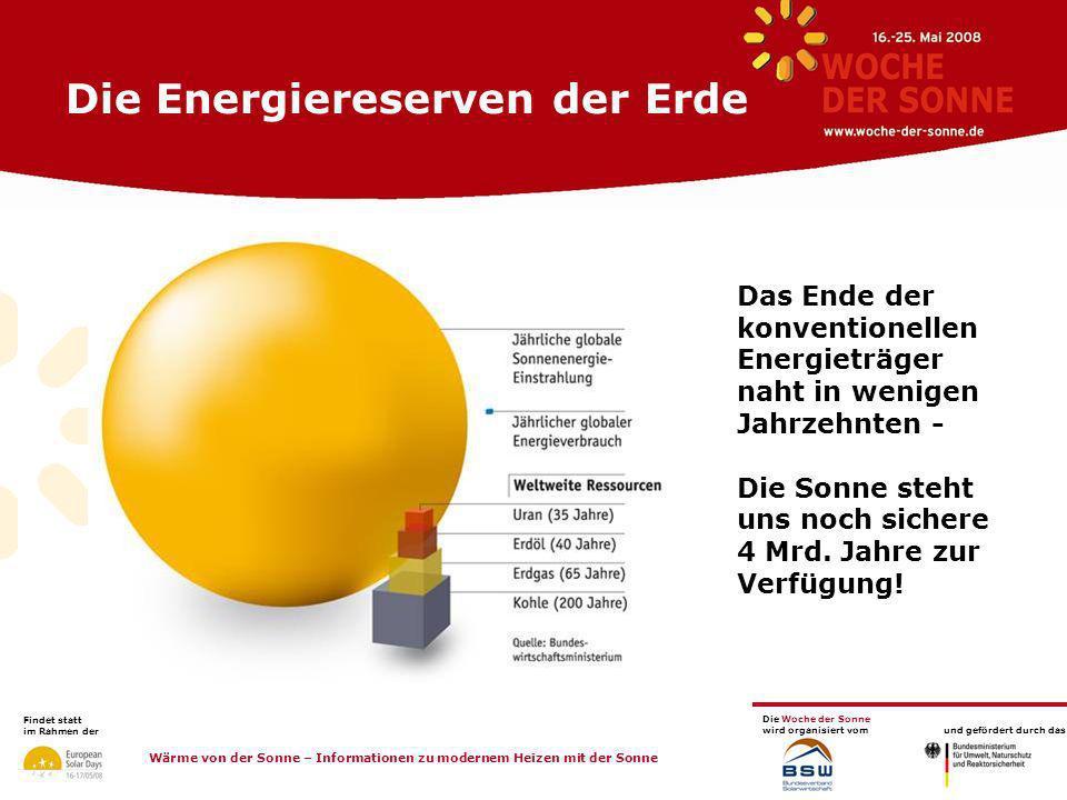 Die Energiereserven der Erde