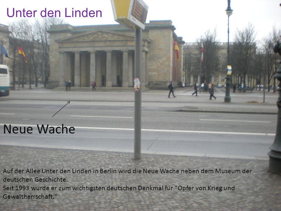 Neue Wache Unter den Linden