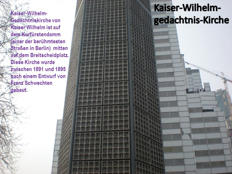 Kaiser-Wilhelm-gedachtnis-Kirche