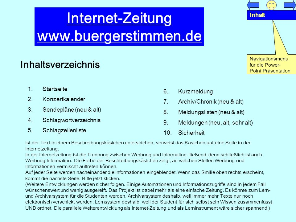 Internet-Zeitung www.buergerstimmen.de