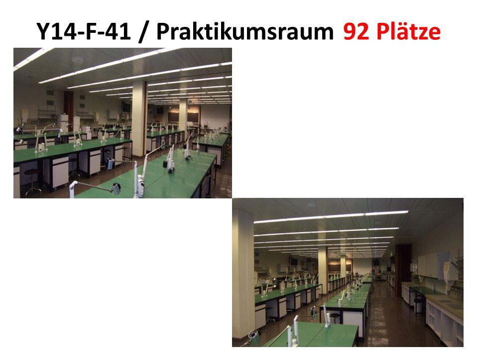 Y14-F-41 / Praktikumsraum 92 Plätze