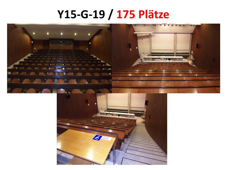 Y15-G-19 / 175 Plätze