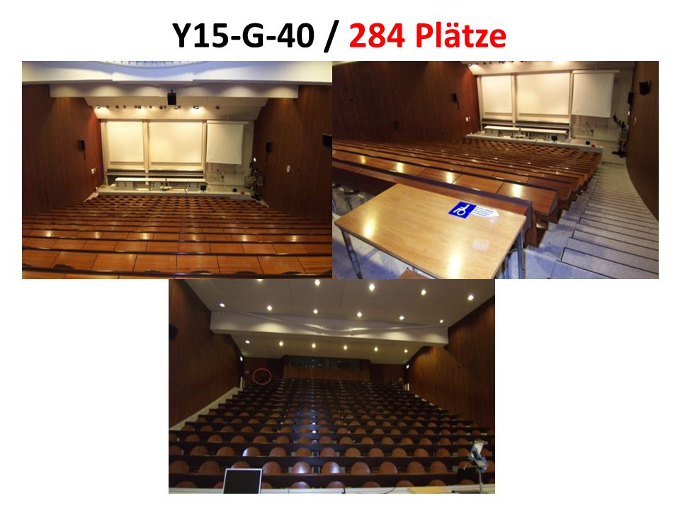 Y15-G-40 / 284 Plätze
