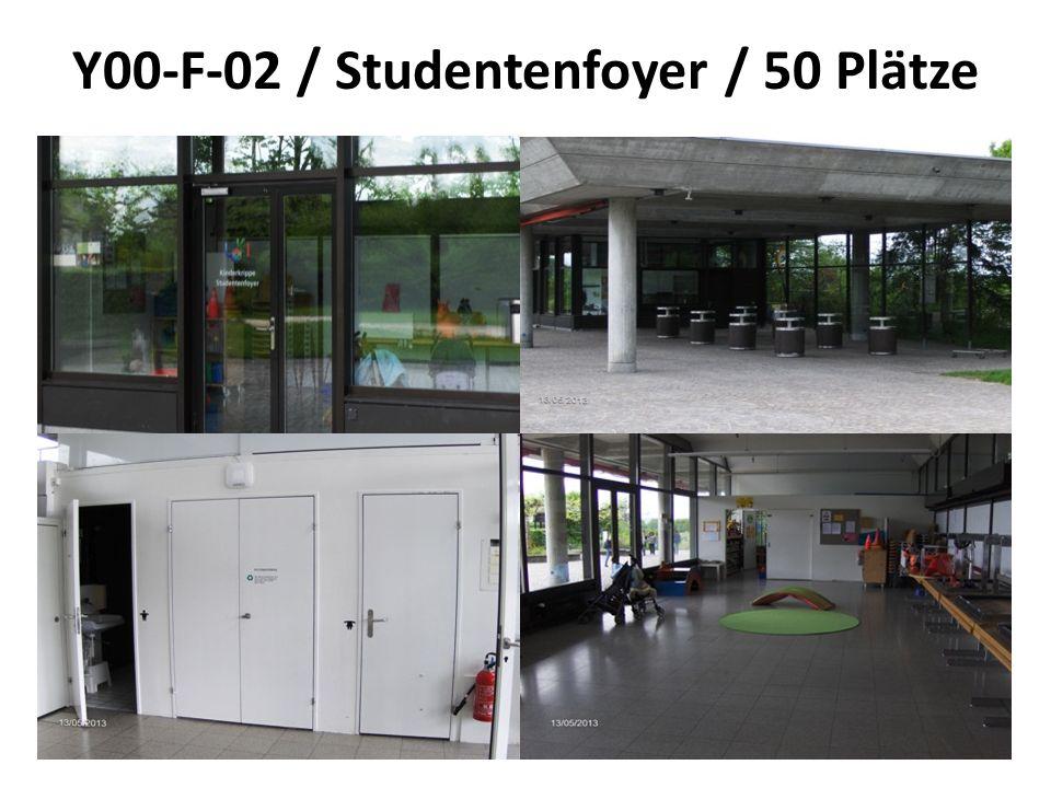 Y00-F-02 / Studentenfoyer / 50 Plätze