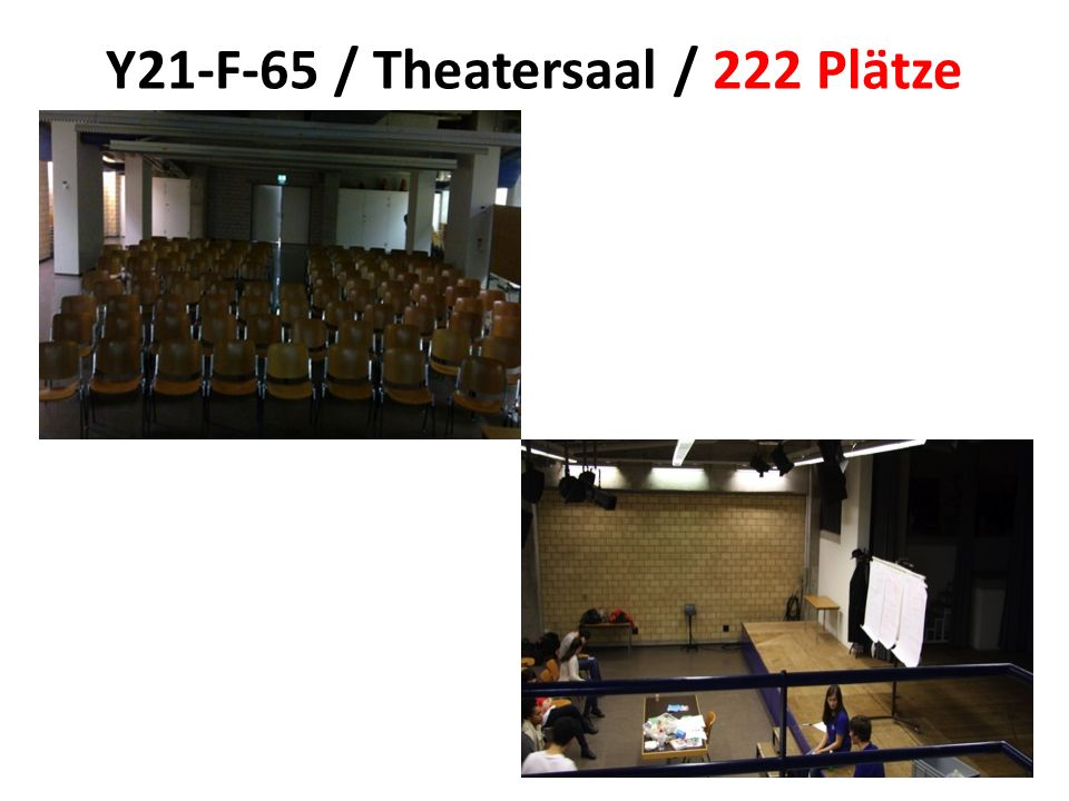 Y21-F-65 / Theatersaal / 222 Plätze