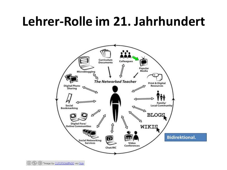 Lehrer-Rolle im 21. Jahrhundert