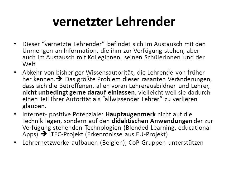 vernetzter Lehrender