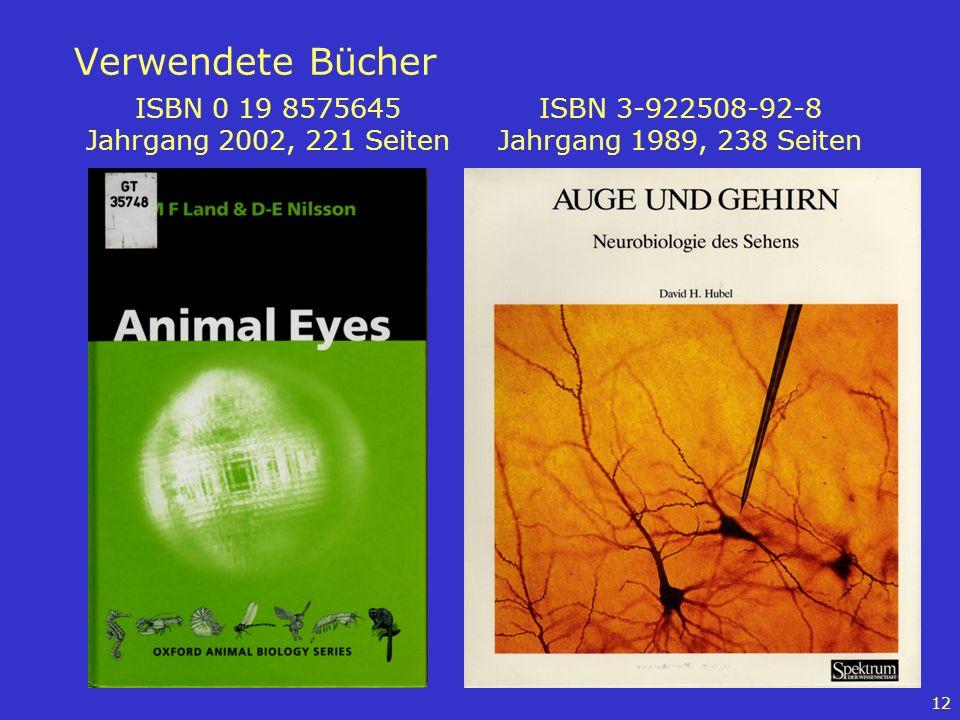Verwendete Bücher ISBN 0 19 8575645 Jahrgang 2002, 221 Seiten