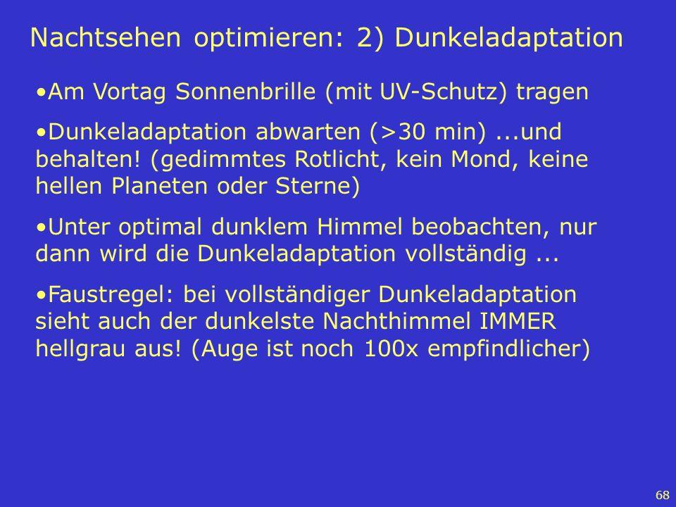 Nachtsehen optimieren: 2) Dunkeladaptation