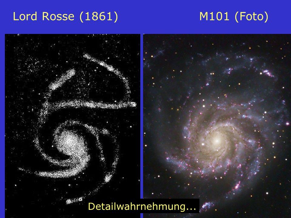 Lord Rosse (1861) M101 (Foto) Detailwahrnehmung...