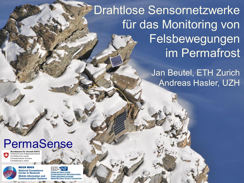 Drahtlose Sensornetzwerke für das Monitoring von Felsbewegungen