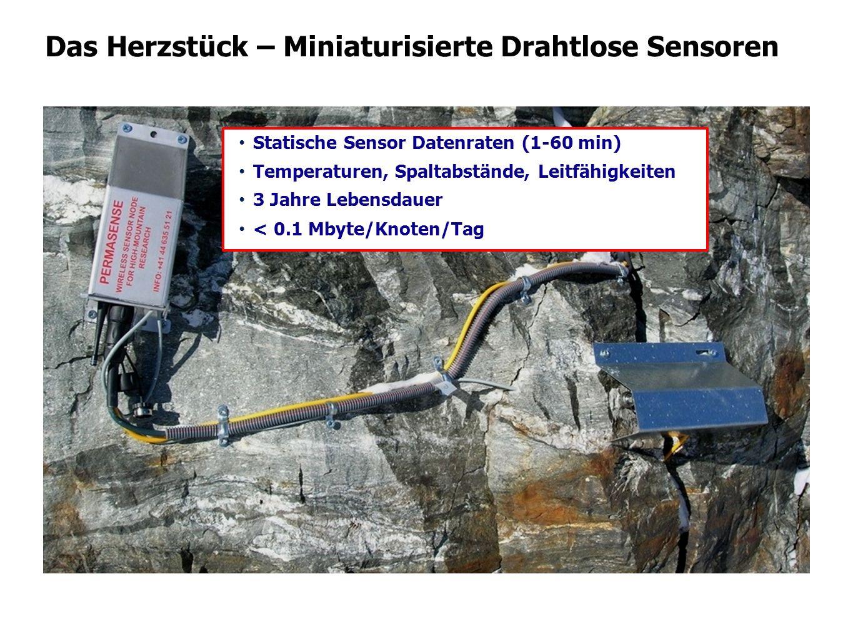 Das Herzstück – Miniaturisierte Drahtlose Sensoren