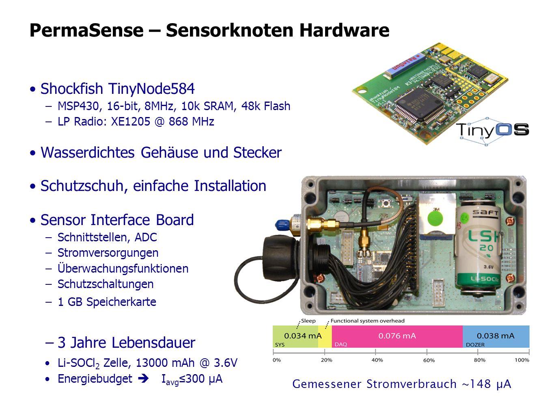 PermaSense – Sensorknoten Hardware