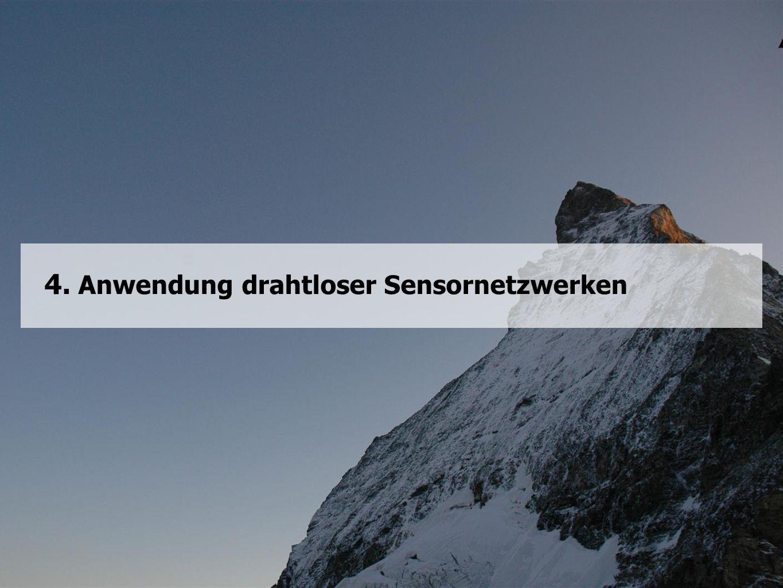 4. Anwendung drahtloser Sensornetzwerken