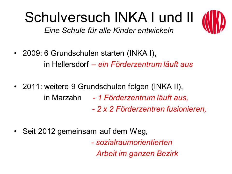 Schulversuch INKA I und II Eine Schule für alle Kinder entwickeln