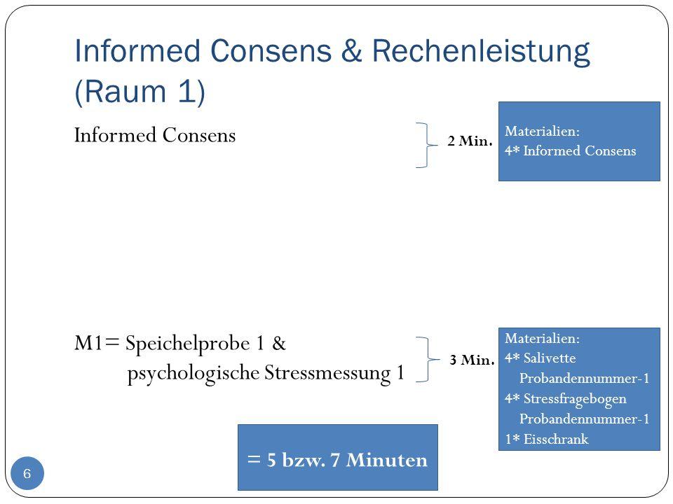 Informed Consens & Rechenleistung (Raum 1)