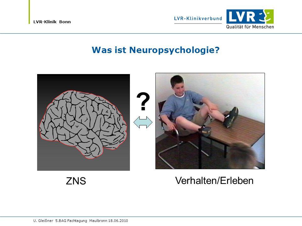 Was ist Neuropsychologie