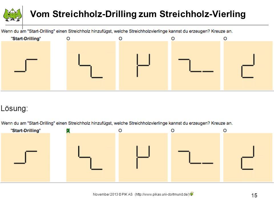 Vom Streichholz-Drilling zum Streichholz-Vierling