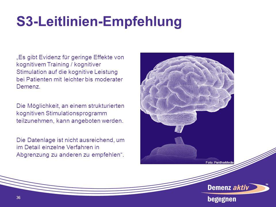 S3-Leitlinien-Empfehlung