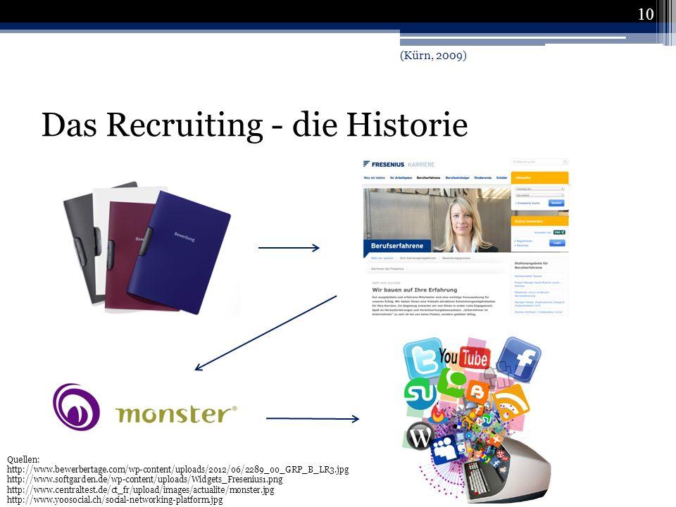 Das Recruiting - die Historie