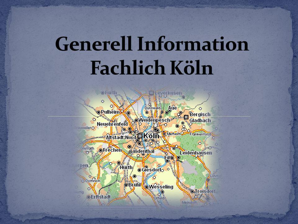 Generell Information Fachlich Köln