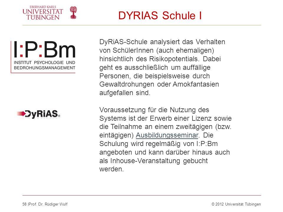 DYRIAS Schule I