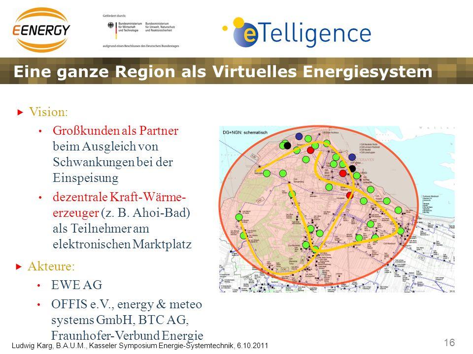 Eine ganze Region als Virtuelles Energiesystem