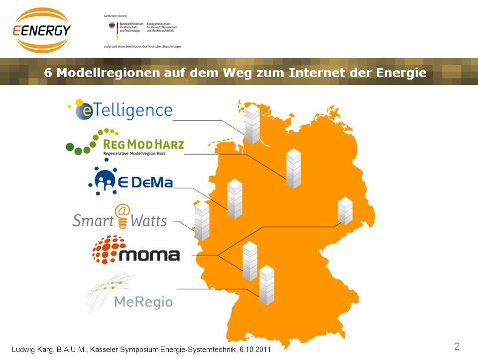 6 Modellregionen auf dem Weg zum Internet der Energie