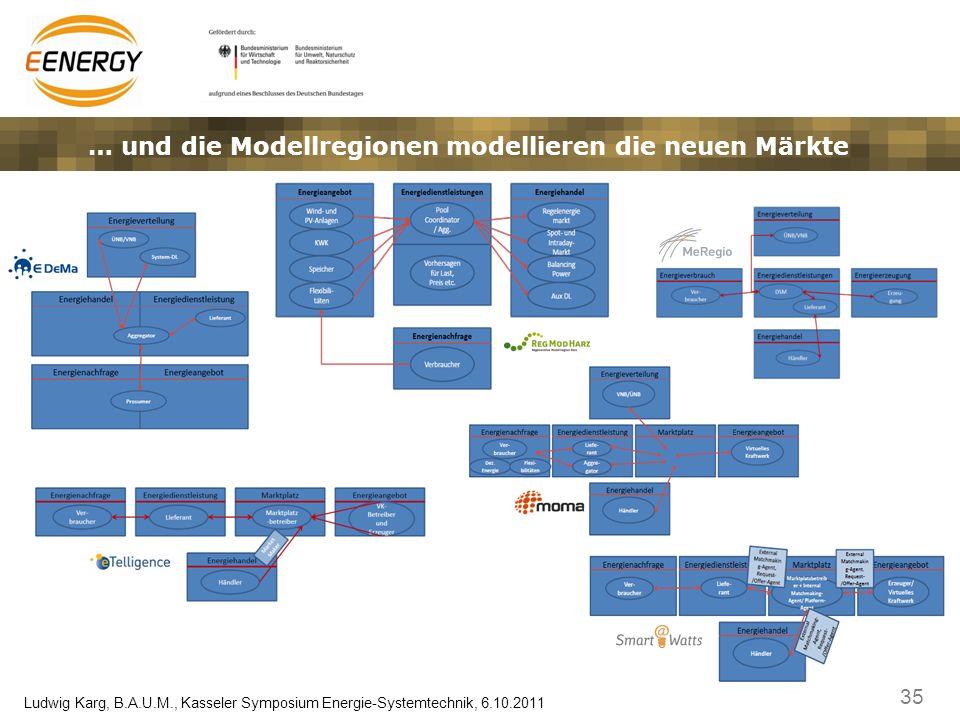 … und die Modellregionen modellieren die neuen Märkte