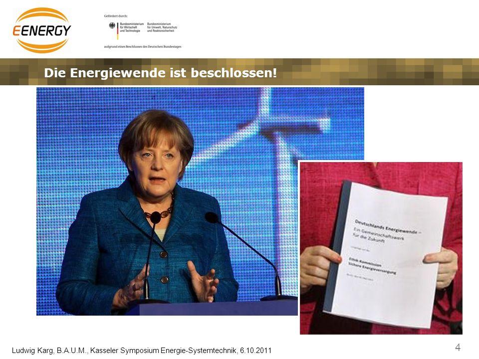 Die Energiewende ist beschlossen!