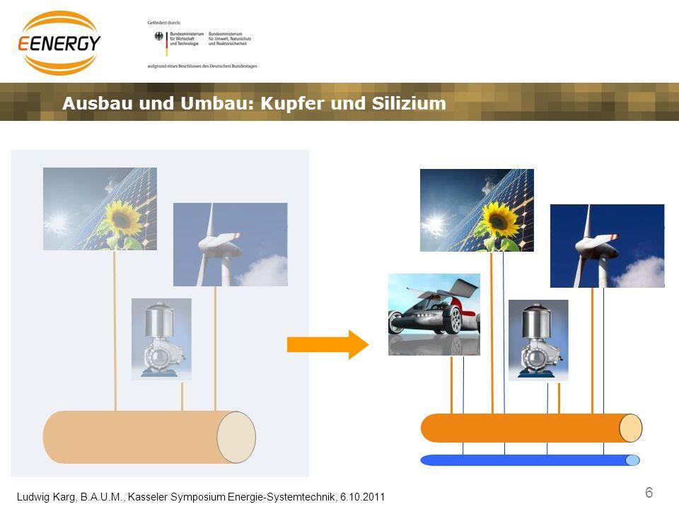 Ausbau und Umbau: Kupfer und Silizium