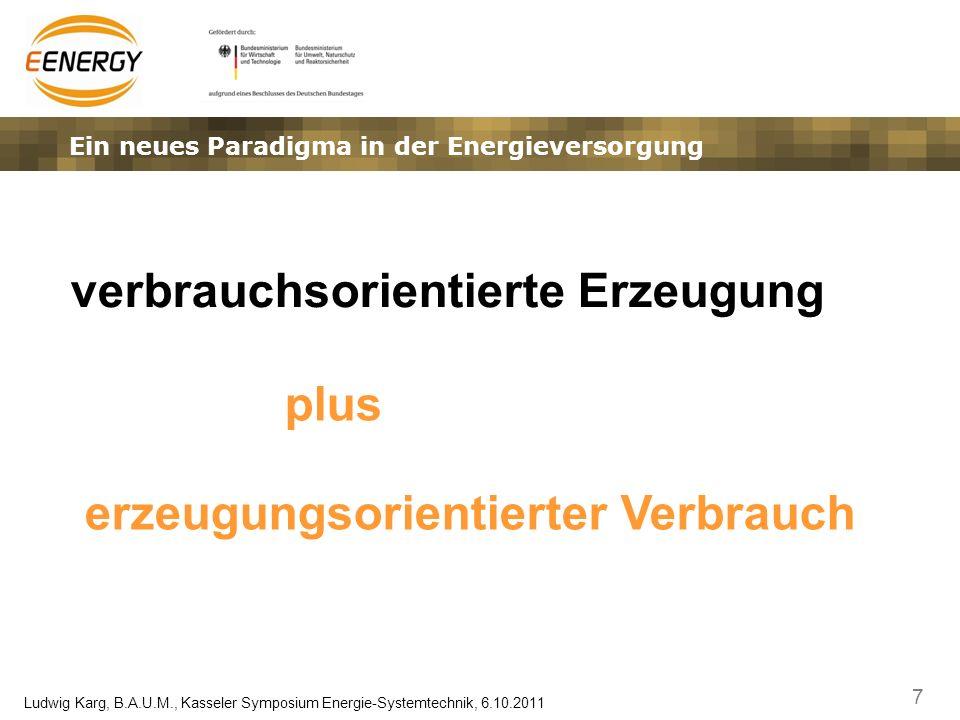 Ein neues Paradigma in der Energieversorgung