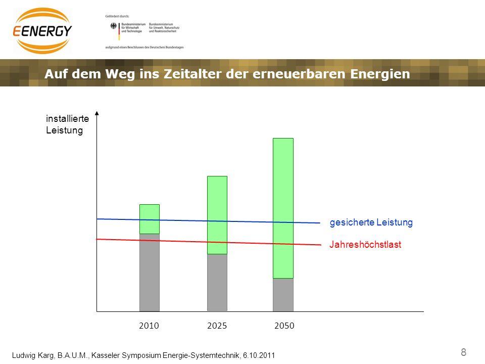 Auf dem Weg ins Zeitalter der erneuerbaren Energien