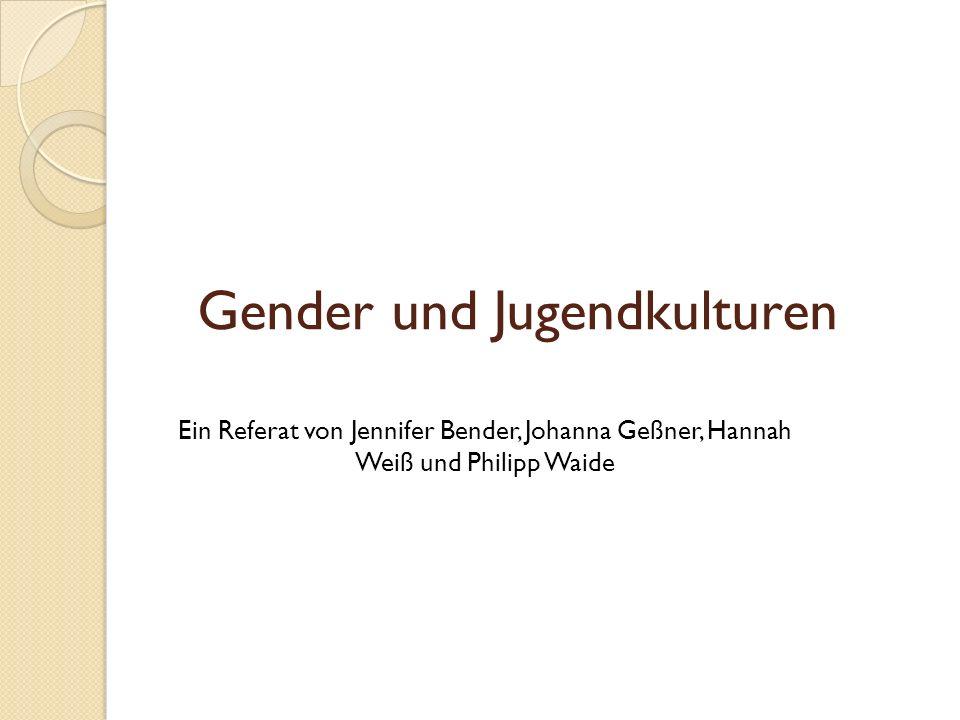 Gender und Jugendkulturen