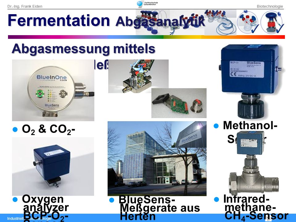 Fermentation Abgasanalytik
