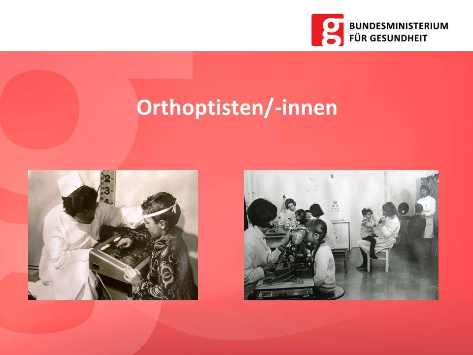 Orthoptisten/-innen