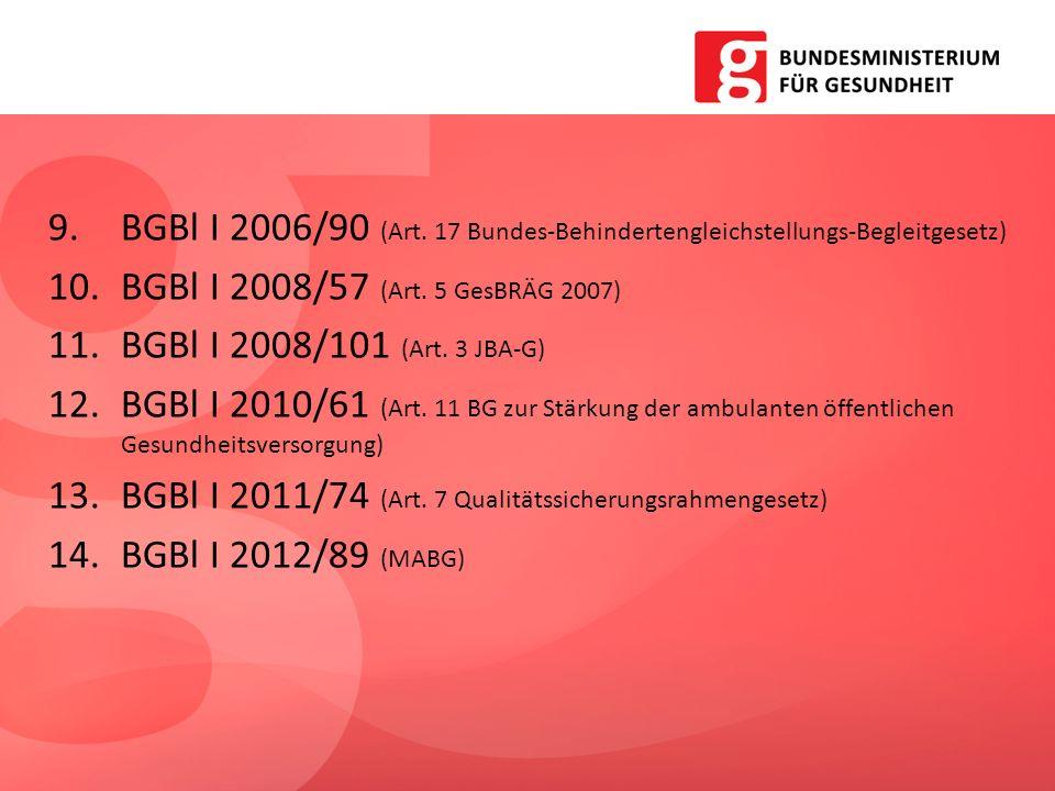 BGBl I 2006/90 (Art. 17 Bundes-Behindertengleichstellungs-Begleitgesetz)