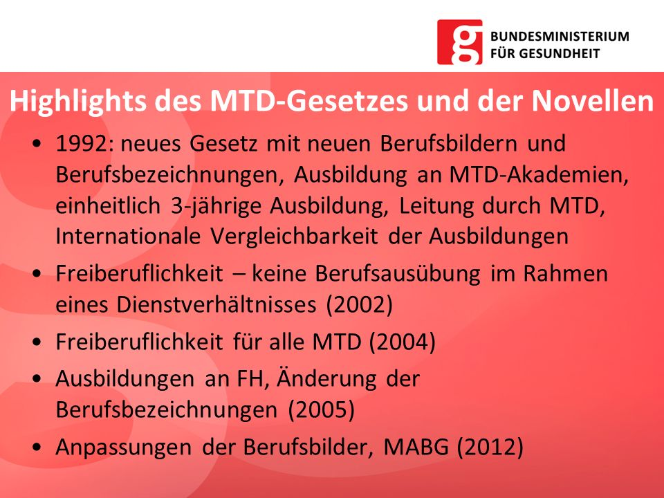 Highlights des MTD-Gesetzes und der Novellen
