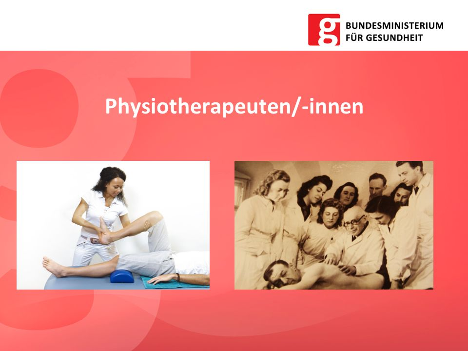 Physiotherapeuten/-innen