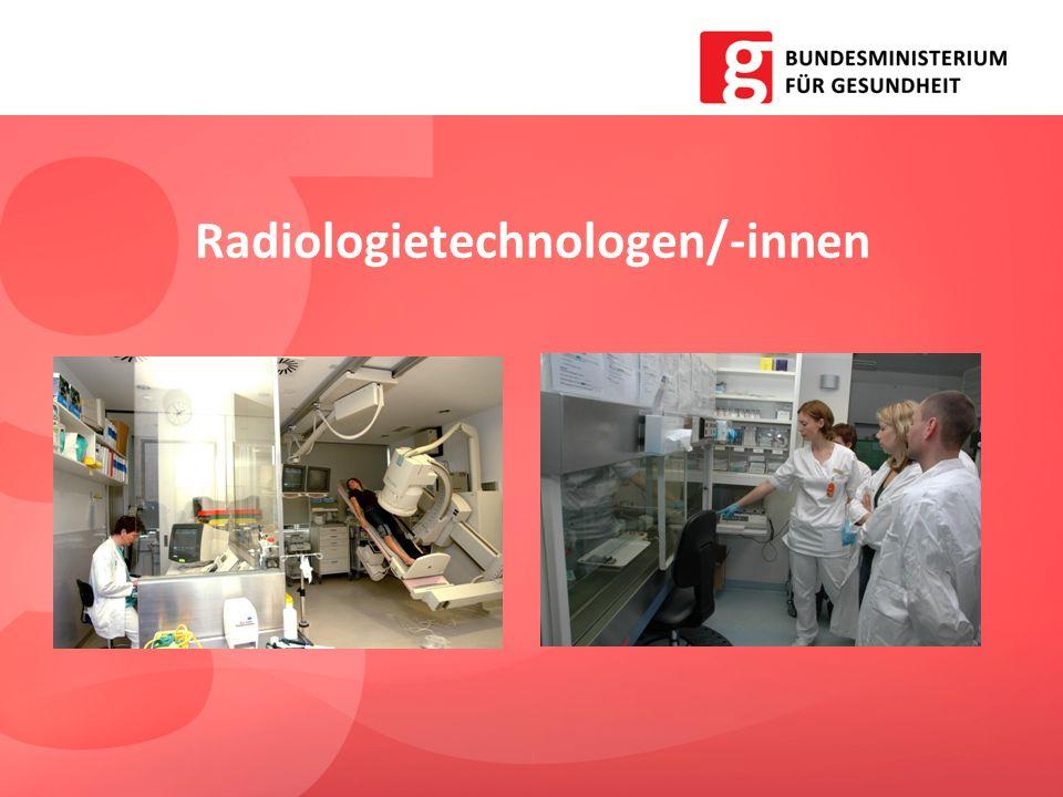 Radiologietechnologen/-innen