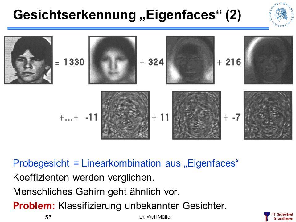 """Gesichtserkennung """"Eigenfaces (2)"""