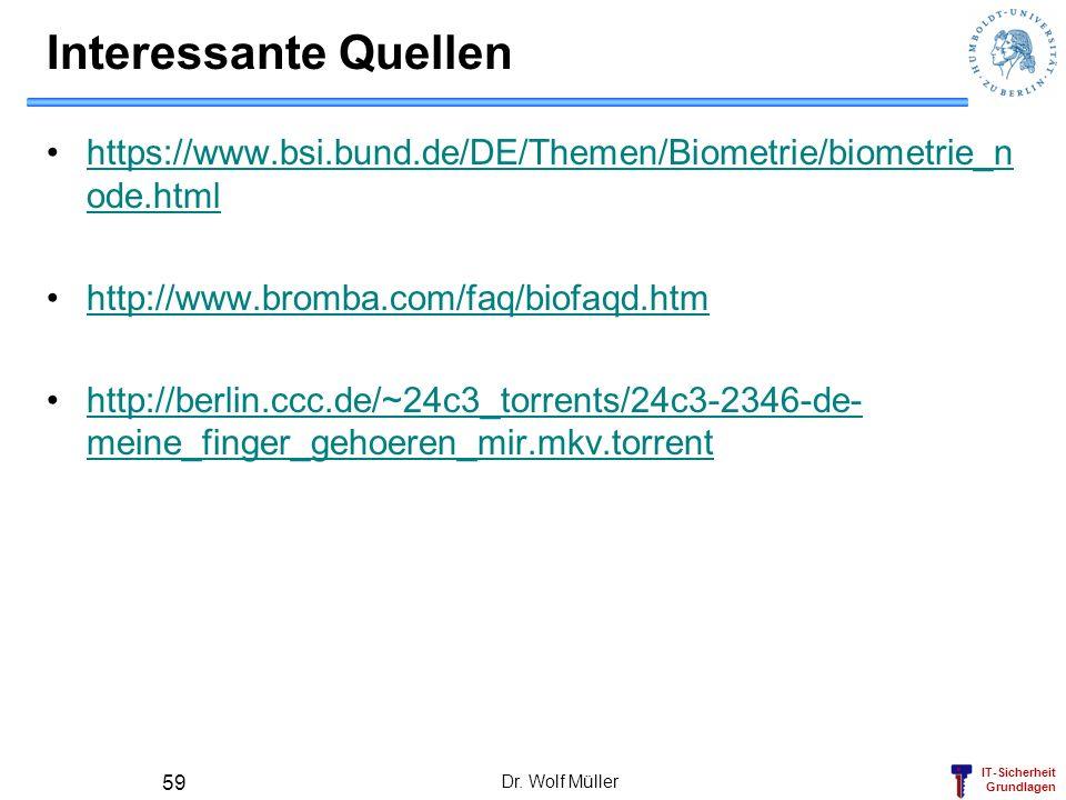 Interessante Quellen https://www.bsi.bund.de/DE/Themen/Biometrie/biometrie_node.html. http://www.bromba.com/faq/biofaqd.htm.