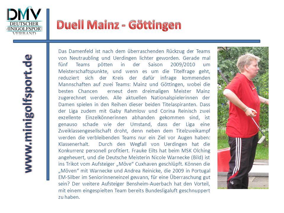 Duell Mainz - Göttingen