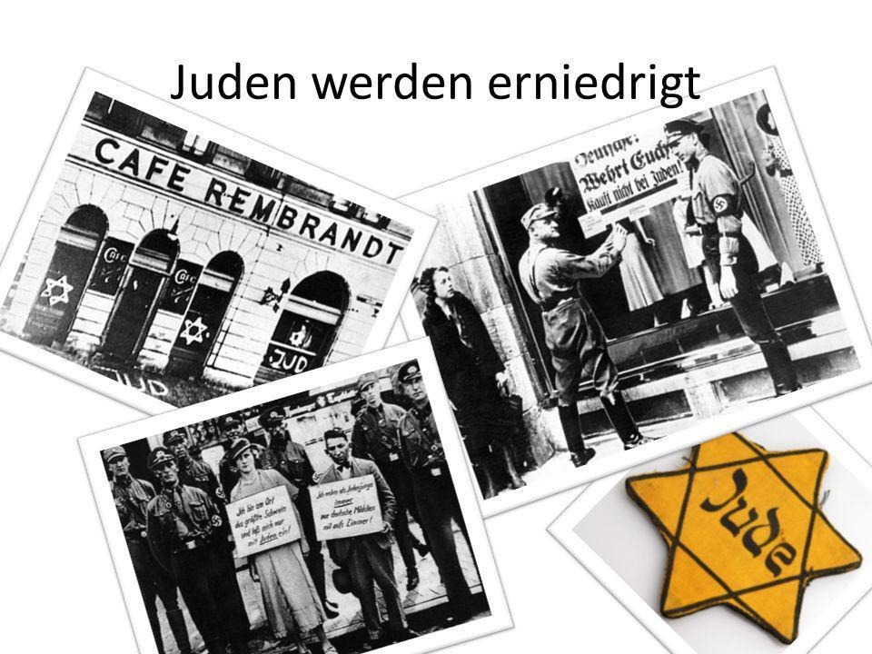 Juden werden erniedrigt